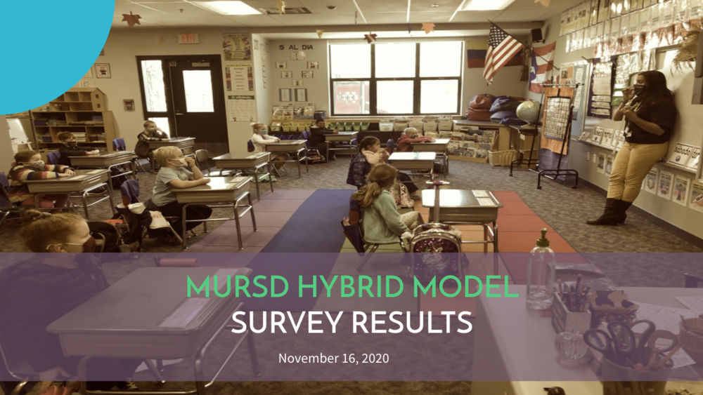 Survey Results on MURSD Hybrid Model- November 2020