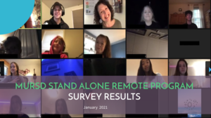 Survey Results on the MURSD Stand Alone Remote Model